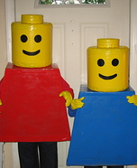 Homemade Lego Mini Figures Costumes