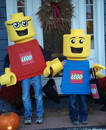 Lego costume ideas - Lego Mini Figures Costumes