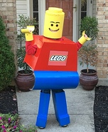 Lego Minifigure Costume DIY