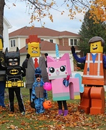 Lego Movie Homemade Costume