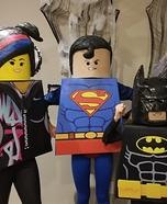 Lego Movie Family Homemade Costume