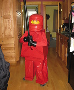 DIY LEGO costume: Homemade Lego Costume Ideas