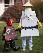 Lego Ninjago Homemade Costume