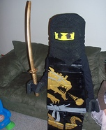 Homemade Lego Ninjago Costume