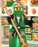 DIY Lego Ninjago Green Ninja Costume