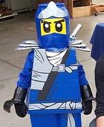 Lego Ninjago Jay Homemade Costume