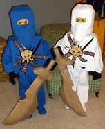 Lego Ninjago Jay & Zane Homemade Costumes