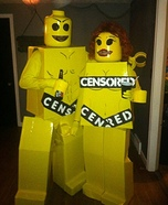 Lego Nudists Homemade Costume
