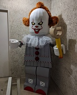 Lego Pennywise Homemade Costume