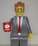 Lego President Business Homemade Costume