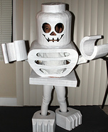 LEGO Skeleton Mini-Figure Costume