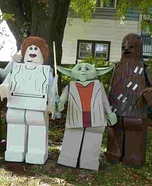 Lego Star Wars Homemade Costumes