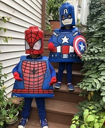 Lego Superheroes Homemade Costume