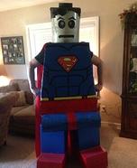 LEGO Superman Homemade Costume
