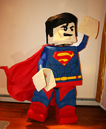 LEGO Superman Homemade Costume