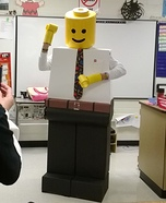 Lego Teacher Homemade Costume
