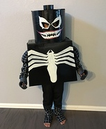 Lego Venom Homemade Costume