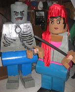 Lego Walking Dead Homemade Costume