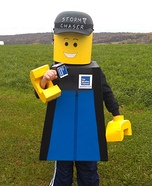 Lego Meteorologist Homemade Costume