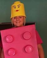 Lego Woman Homemade Costume