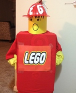 Legoman Homemade Costume