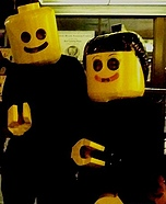 Homemade LEGO costume - Homemade Lego Mates Costumes