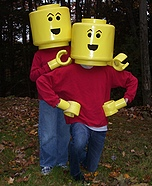 Lego costume ideas - Homemade Lego Minifigs Costumes