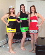 Lemonade, Lime and Berry Costume