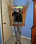 Leopard in a Jungle Cage Homemade Costume