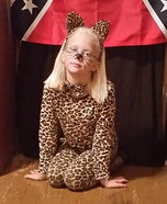 Leopard Girl Homemade Costume