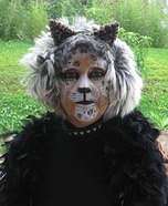 Leopard Woman Homemade Costume