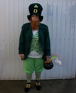 Leprechaun Homemade Costume