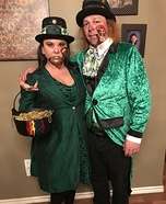 Leprechaun Couple Homemade Costume