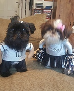 Let's cheer for football Dogs Costume