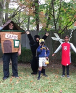 Let's Go Camping Homemade Costume