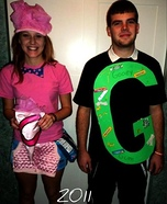 Letter People Costumes