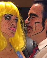 Lichtenstein Couple Homemade Costume