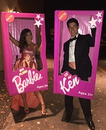Life Size Barbie & Ken Homemade Costume