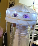 Light Up Jelly Fish Homemade Costume