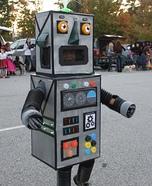 Light Up Robot Homemade Costume