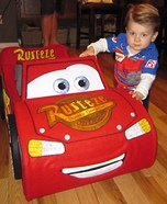 Lightning McQueen Costume DIY