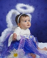 Homemade Angel Baby Costume