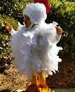Lil Chicken Homemade Costume