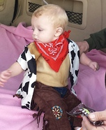 Lil' Cowboy Homemade Costume