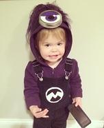 Lil Evil Minion Homemade Costume