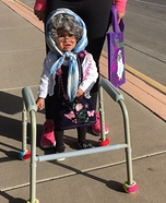 Lil Granny Homemade Costume