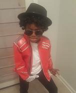 Lil Michael Jackson Costume