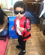 Lil MJ Homemade Costume