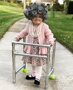 Lil Ole Granny Homemade Costume