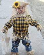 Homemade Scarecrow Costume